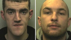 Simon Beech and Garreth Foster denied setting fire to the mosque