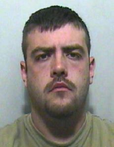 Bernard Holmes, EDL thug with multiple convictions for violence.