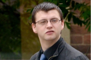 """APOLOGY: Steven Ballard leaving court. The Facebook user claimed the furore caused by his """"menacing"""" comment had cost him his job, girlfriend and his child."""