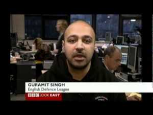 Guramit Singh on BBC TV