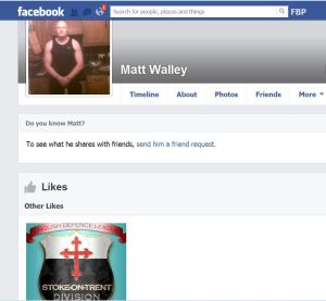 Matt Walley facebook