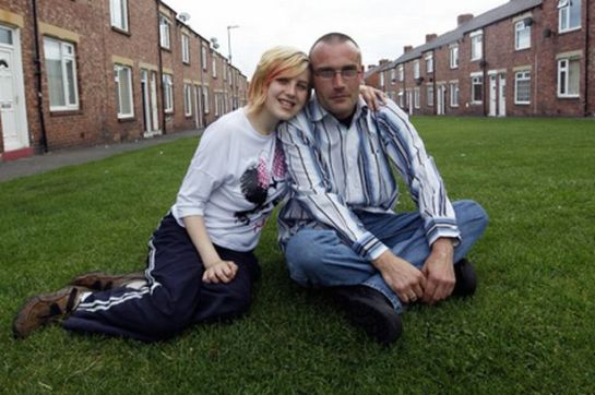 Mark Pearson with his 18-year-old daughter Tina