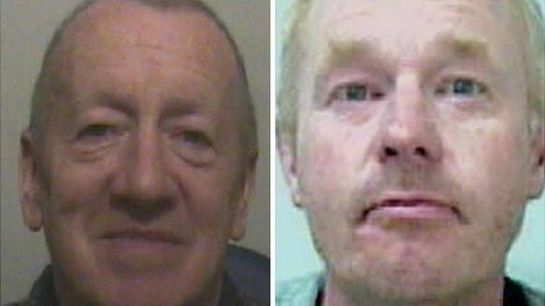 Robert Ewing (left) murdered Paige and Gareth Dewhurst was found guilty of helping to dispose of her body