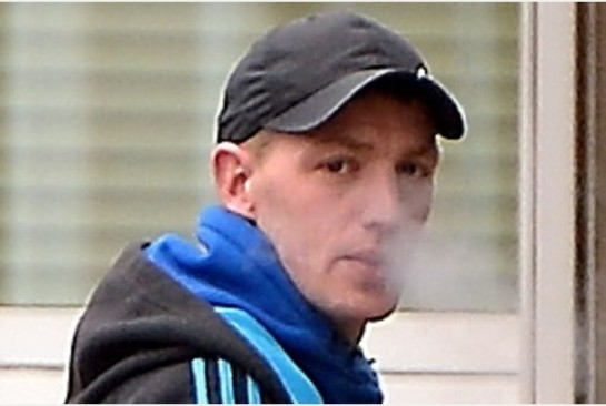 WALKED FREE: Mathew Burton, who racially abused two men in a shop