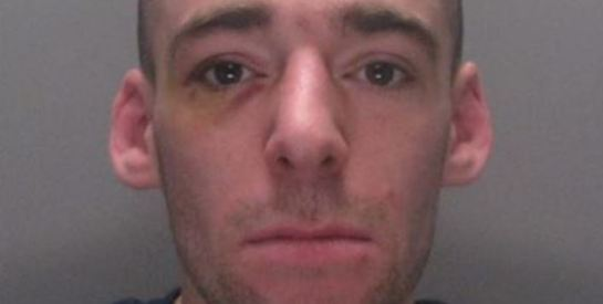 Daniel Spensley - latest jailed Dover rioter. Picture courtesy of Kent Police