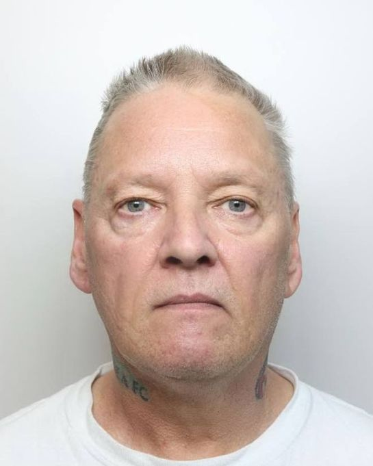 Terence Poxon, of Shelton Lock, threatened the taxi driver with a wooden baton (Image: Derbyshire police)