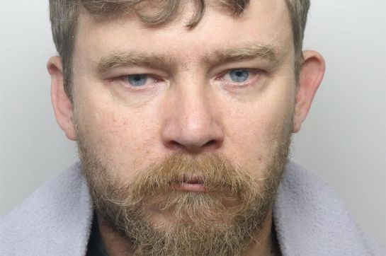 Trevor Vinson was given a 21-year extended sentence for filming himself sexually assaulting a three-year-old girl (Image: Dyfed-Powys Police)