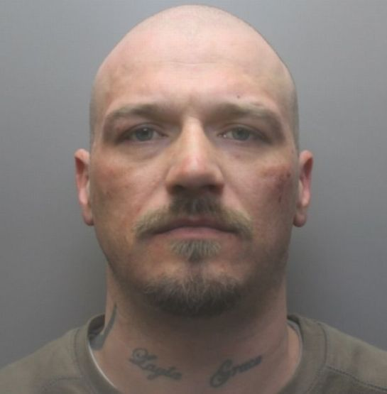 Brian Stamp, 34, from South Shields, jailed for 16 months after admitting affray