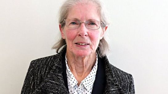 Barbara Fielding-Morriss, 79, denied stirring up hatred, saying her blogs were to educate people