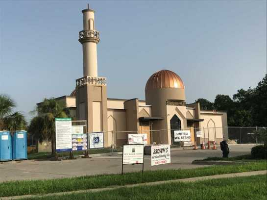 Construction on the new mosque is about 80-85 percent complete. Eleanor Dearman/Caller-Times