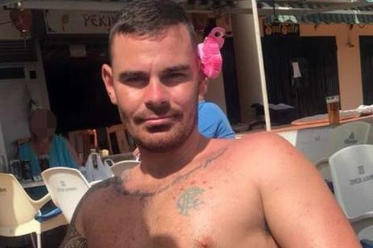 David Pirie (pictured), 27, left the explosive device outside the window of terrified Alexander McCluckie