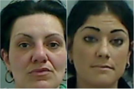 "Lois Evans and Emma Storey, were yesterday jailed for imprisoning a man and subjecting him to what a judge described as a ""terrifying"" ordeal, during which he was battered with a hammer"