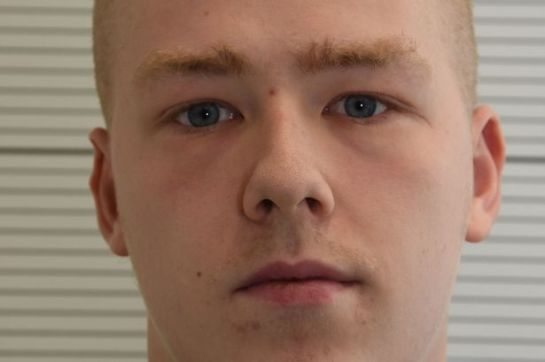 Adam Thomas, 22, who has been convicted at Birmingham Crown Court of membership of neo-Nazi terrorist group National Action