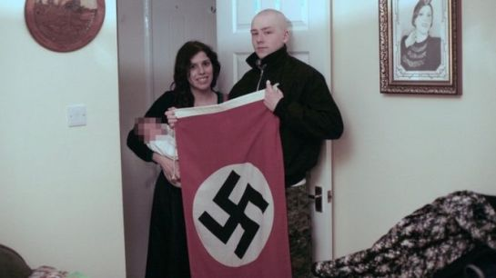"Claudia Patatas and Adam Thomas named their baby Adolf out of ""admiration"" for Hitler"