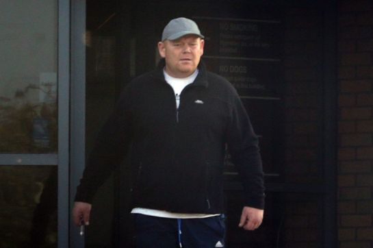 Colin Pearson leaves South Tyneside Magistrates Court. (Image: Newcastle Chronicle)