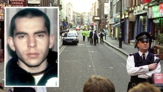 David Copeland who bombed the Admiral Duncan pub in Soho and other targets in London