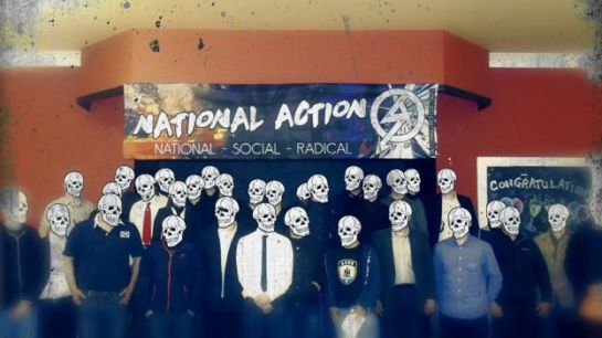 "National Action promoting one of its ""conferences"""